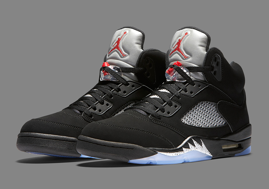 buy popular a3df4 90bd1 Jordan 5 Black/Metallic Price | SneakerNews.com