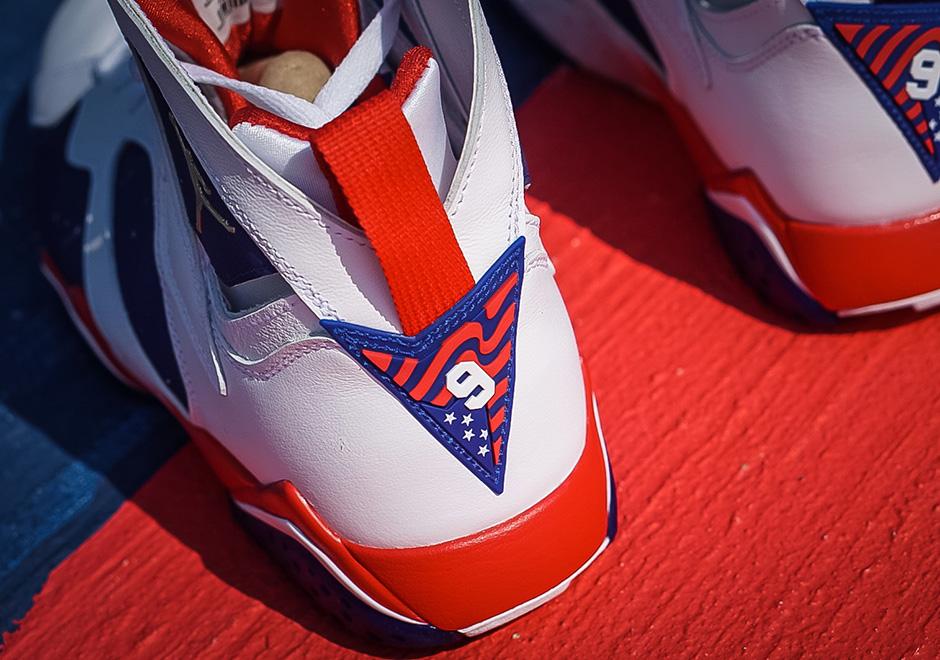 Nike Air Jordan 7 Retro Ol-utgaven Mini s1tLKQj60