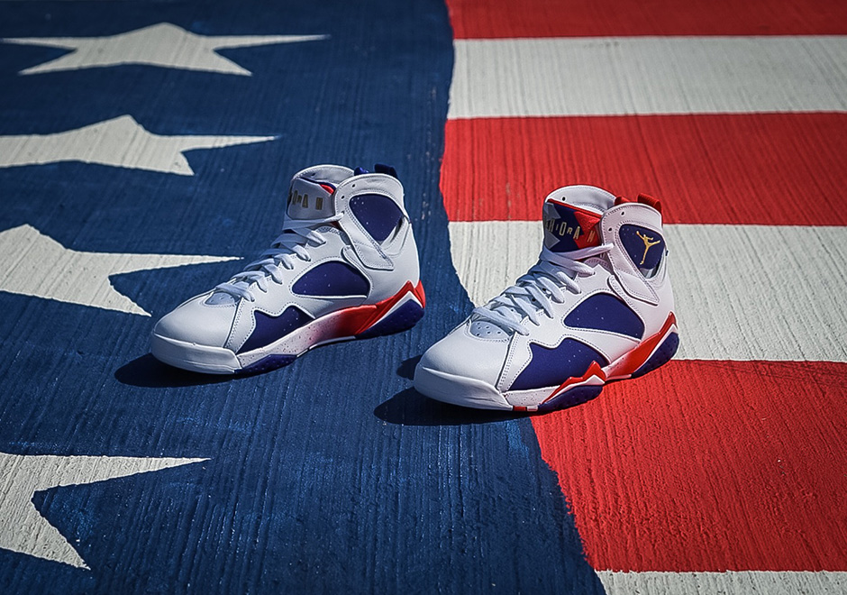 "Air Jordan 7 ""Olympic Alternate"