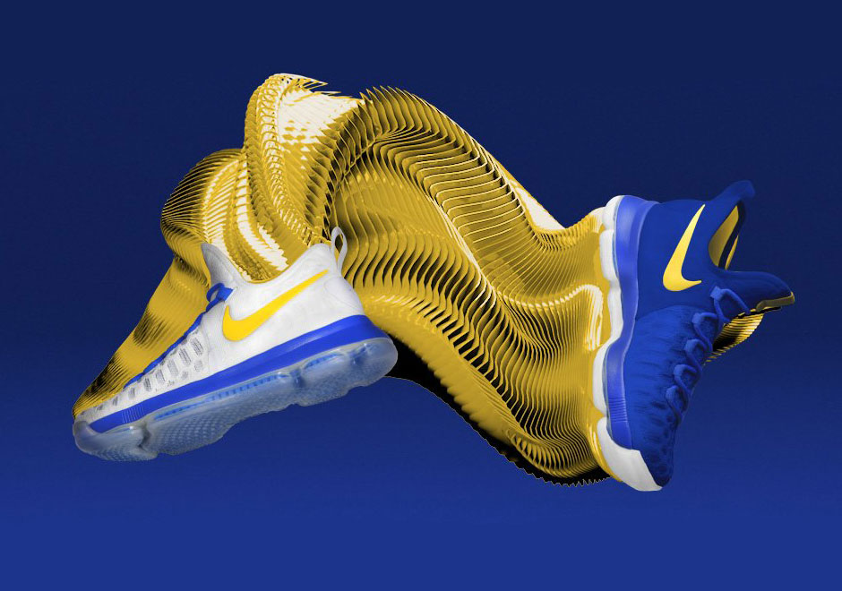 online store 3ac27 461fa The Kevin Durant Golden State Warriors Sneaker Era Begins With Limited Nike  KD 9 iD