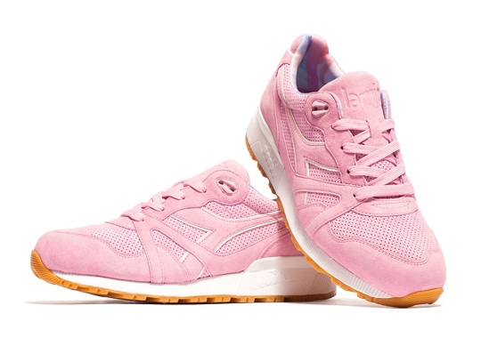 Diadora And La MJC Celebrate ALL GONE 2014 With Pink Suede