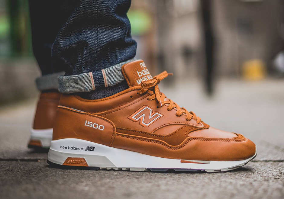new balance 1500 brown orange