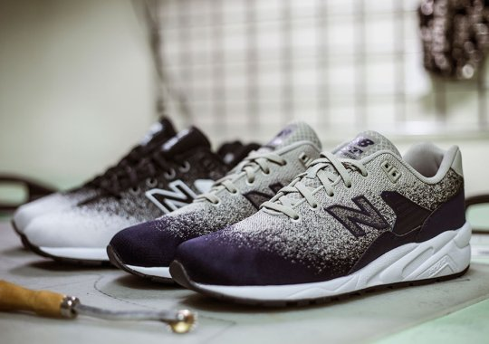 "New Balance's ""ReEngineered"" 580 Gets An Awesome Faded Knit Upper"