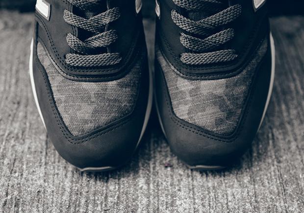 classic fit a8eeb f0492 New Balance 997 Charcoal Camo   SneakerNews.com