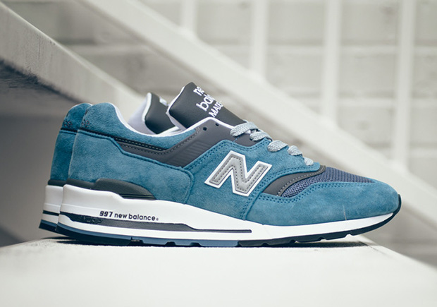 new style 69ad8 b8daa New Balance 997 Ice Blue M997CSP | SneakerNews.com