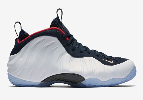 "Official Images Of The Nike Air Foamposite One ""Olympic"""