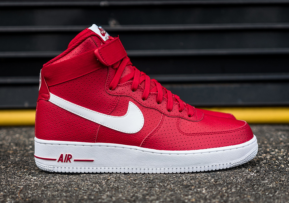 ebay nike air force 1 red on red 77b25 de42b