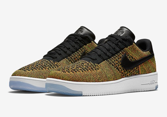 """There's Another """"Multi-color"""" Nike Air Force 1 Flyknit"""