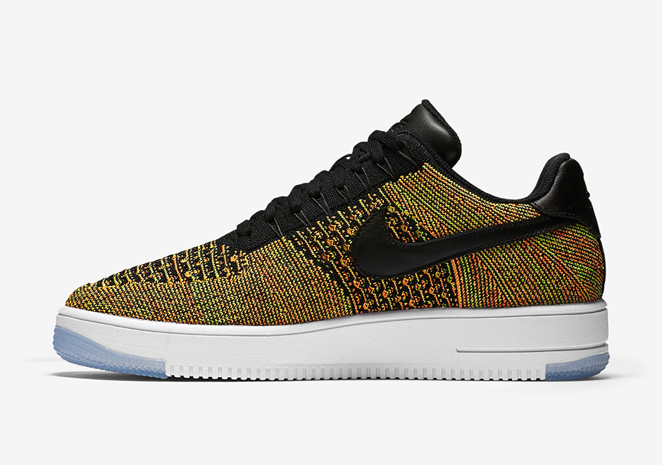 """size 40 9f94d f3185 Nike Air Force 1 Flyknit Low """"Multi-Color"""""""