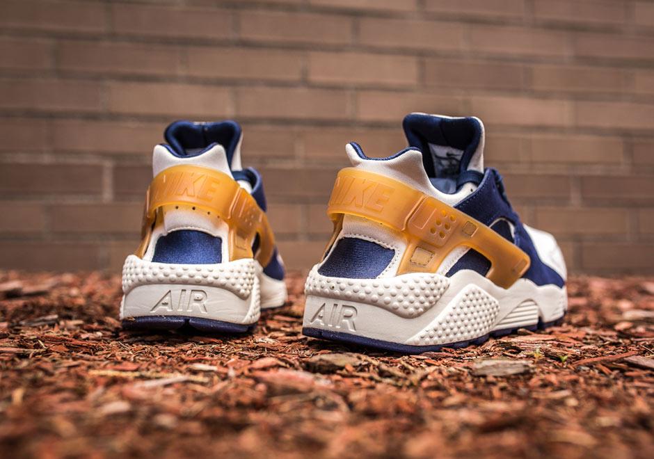 54da6a1dfde378 Nike Huarache Brown And Blue