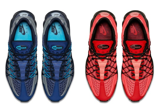 The Nike Air Max 95 Ultra SE Set To Release In Red And Blue