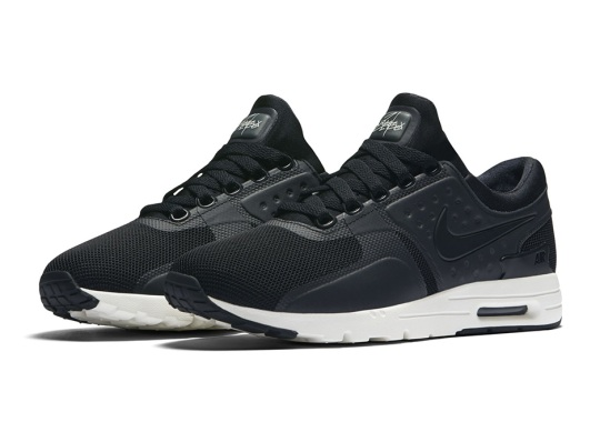 The Nike Air Max Zero Is Releasing In Black/White
