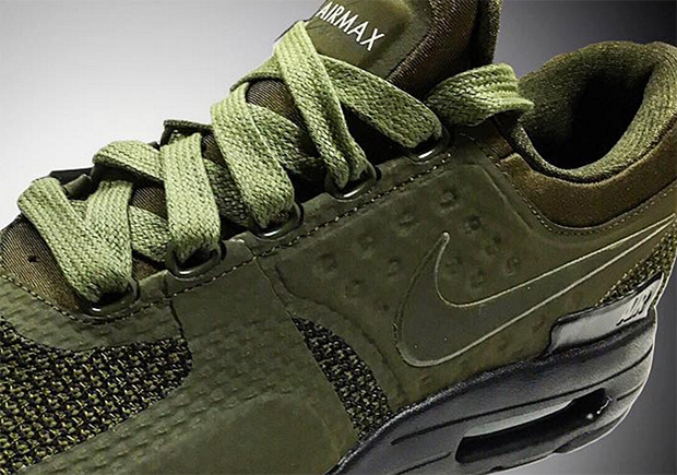new styles 7c020 82e67 Nike Air Max Zero Olive 2017 Release | SneakerNews.com