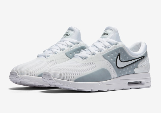 First Look At The Nike Air Max Zero In White/Grey