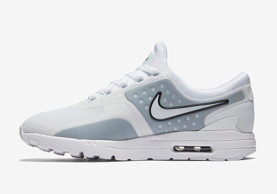 Nike Air Max Zero White Grey Women's |