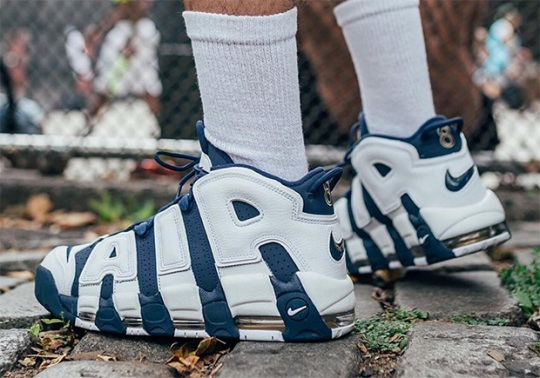 Buy The Olympic Uptempos At KITH And Meet Scottie Pippen