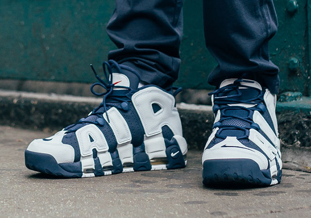 Nike Air More Uptempo Olympic Pippen Sz 12 ...