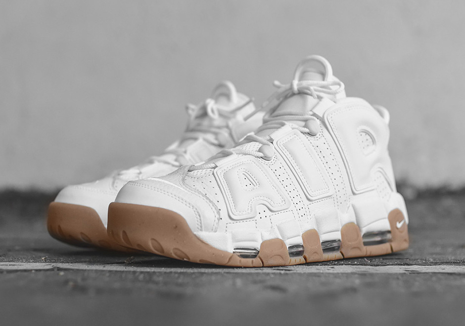 Nike Gum More Air White Uptempo 414962 103 rdBCxoe