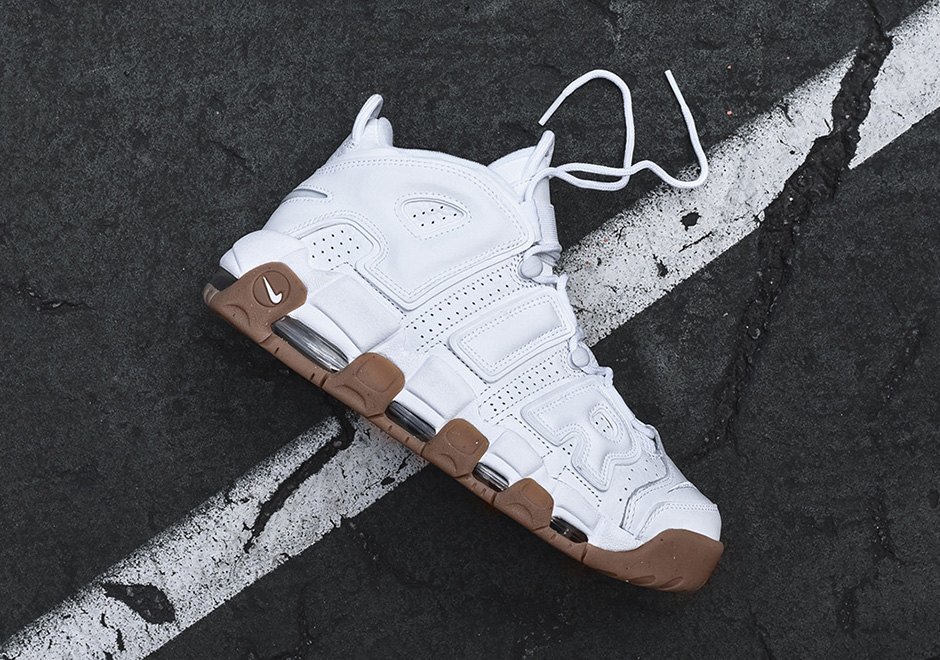 e6badfacb51b58 Nike Air More Uptempo. Color  White White-Gum Light Brown Style Code  414962 -103. Price   160