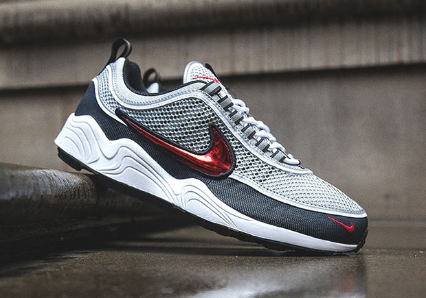 new arrival 5f28f 1e528 Nike Air Zoom Spiridon Sport Red Release Date | SneakerNews.com