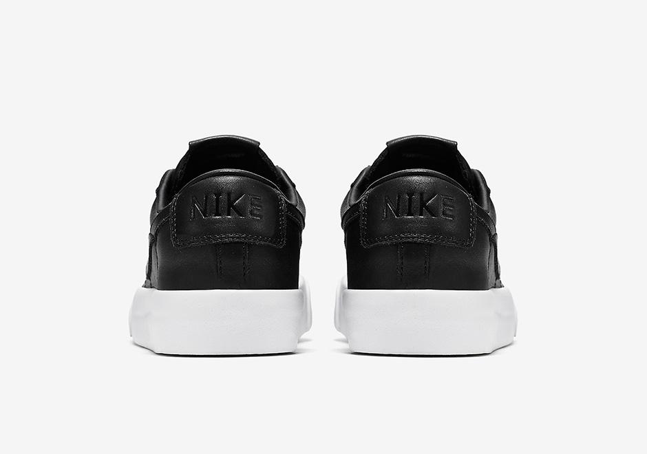 Nike Blazer Premium Skinn Hvite Joggesko SNGkBB