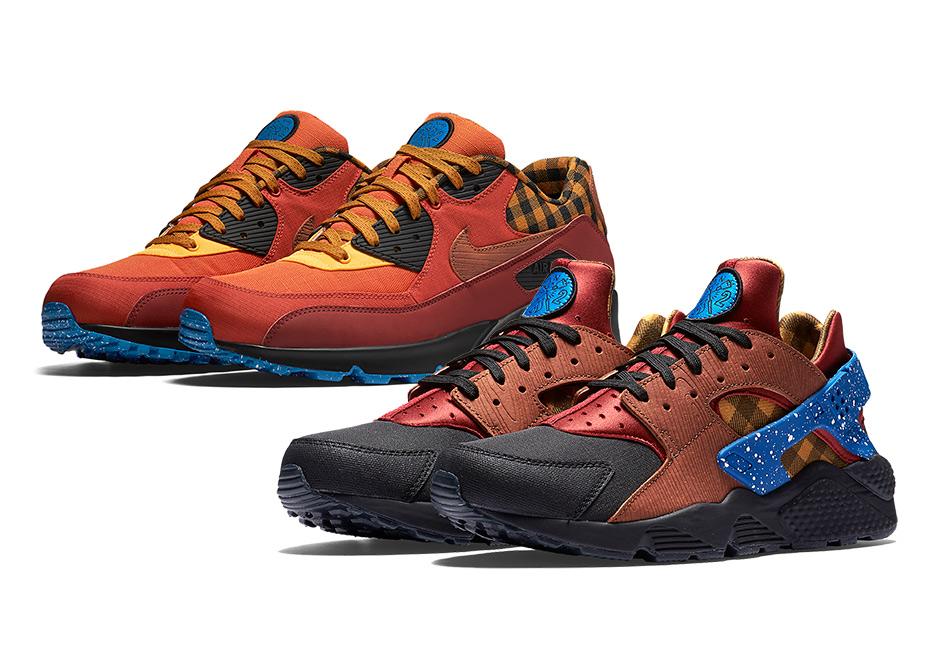 0640edb5f Nike Camping Pack Air Hurache Air Max 90 | SneakerNews.com