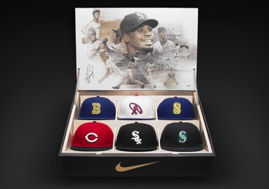 Nike Creates a Limited Edition Hat Collection Box For Ken Griffey Jr.