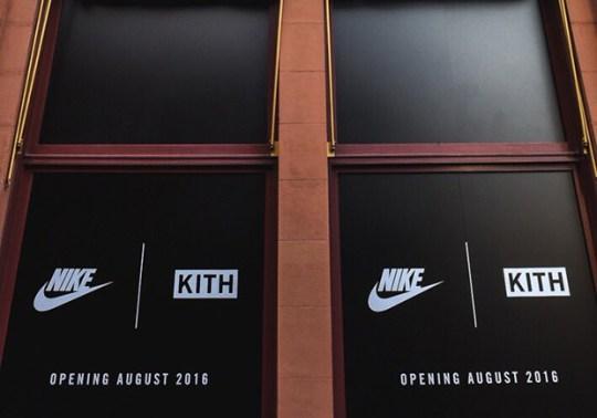 Ronnie Fieg Teases An Upcoming KITH x Nike Shop
