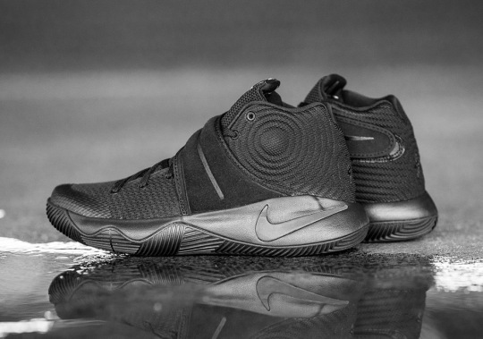 "The ""Triple Black"" Nike Kyrie 2 Drops Tomorrow"