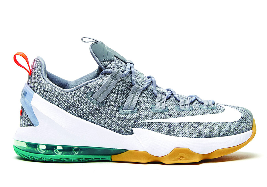 2db50758d23 Nike LeBron 13 Low Stealth Grey