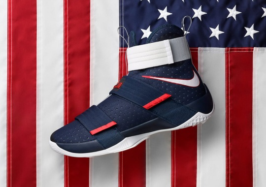 "LeBron's ""USA"" Soldier 10 Is Releasing Soon"