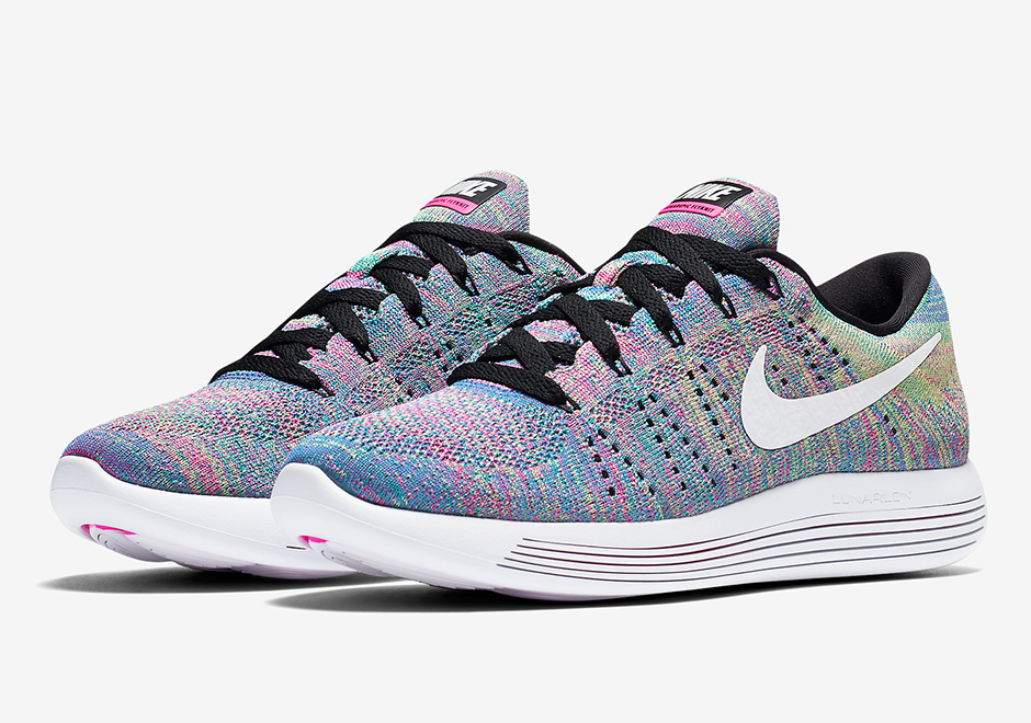 "best service a5d95 b26bf The Legendary ""Multi-color"" Returns On The Nike LunarEpic Flyknit Low"
