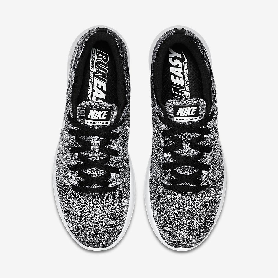Nike LunarEpic Low Flyknit. Color  Black White Style Code  843764-001.  Release Date  8 4 2016. Price   160 b32665c1c220