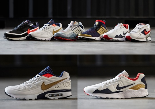 "Nike's Olympic ""Then And Now"" Pack Is Now In Stores Everywhere"