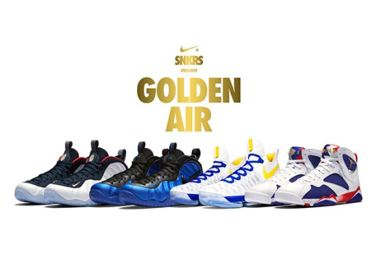 """Nike """"Golden Air"""" Event In San Francisco Has Big Sneaker Releases In Store"""