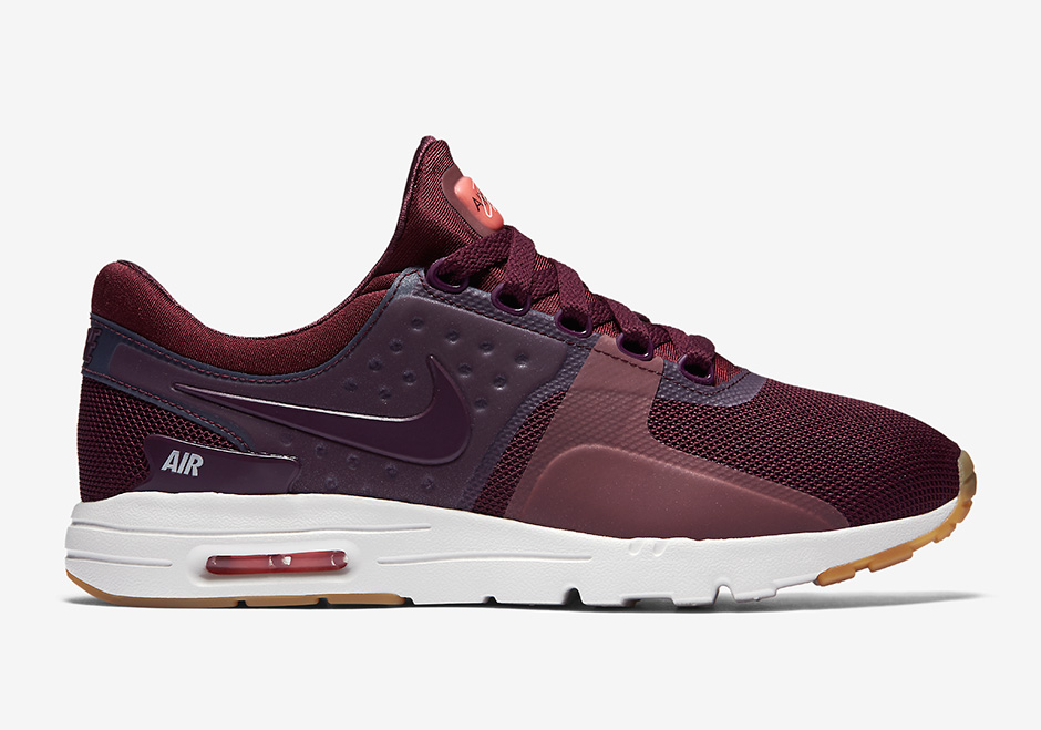separation shoes ba6ae a2fef A Nike Air Max Zero In Maroon And Gum Is Releasing Soon