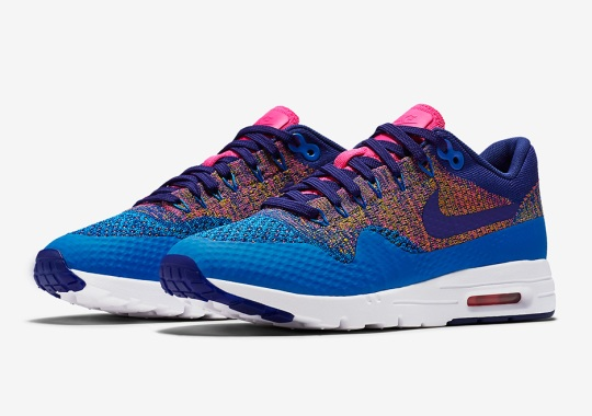 Multi-Color Hits The Nike Air Max 1 Flyknit