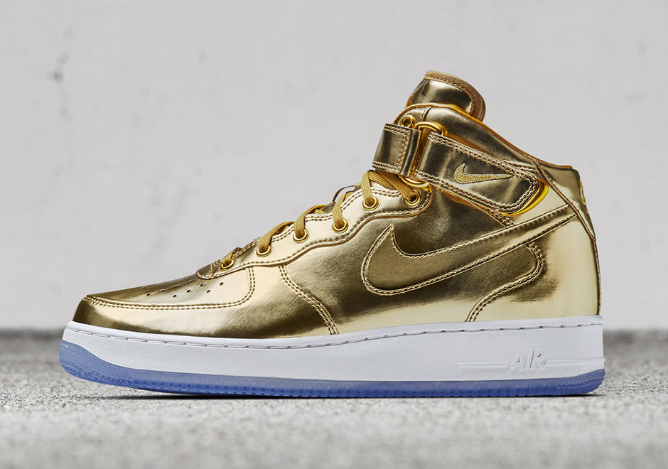 NIKEiD Air Max 1 Olympic Medals Metallic Gold Silver Bronze