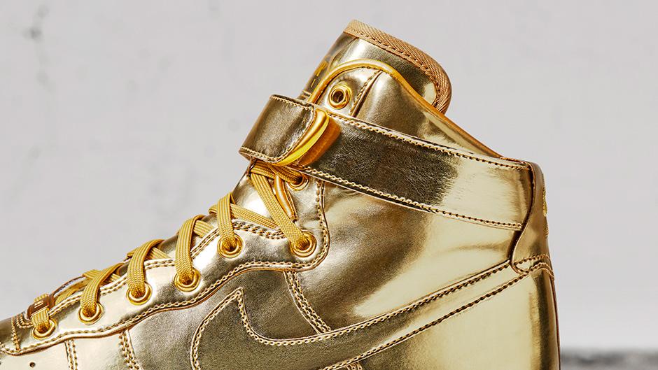 NIKEiD Metallic Gold Olympic Options  b97115d24