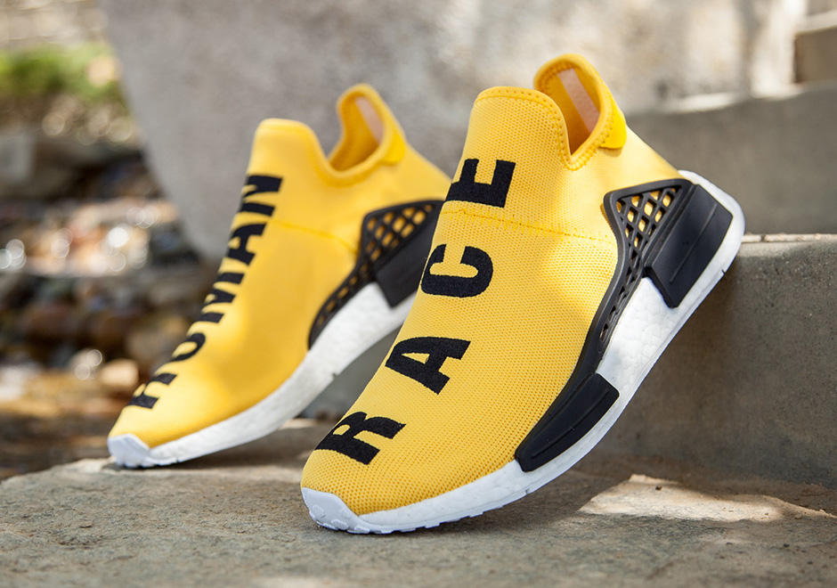 Pharrell adidas NMD Human Race Release Date & Stores with Stock
