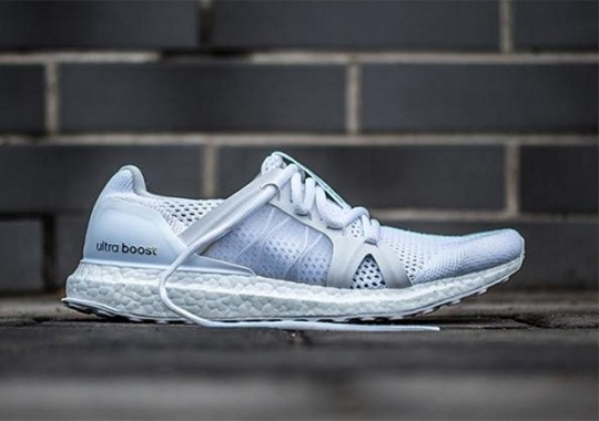 "0e5268136 Stella McCartney s adidas Ultra Boost Is Coming In ""Triple White"""