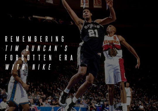 Remembering Tim Duncan's Forgotten Era With Nike
