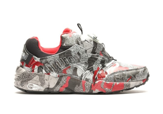 Another Look At Trapstar's Upcoming Puma Disc Blaze In Camouflage