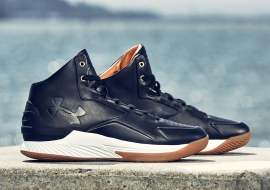 Under Armour Brings Back The Curry One In Luxurious Black Leather