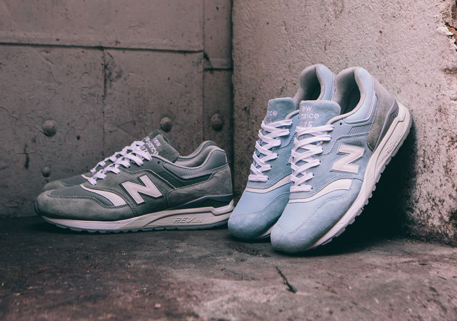 good out x many styles outlet for sale New Balance 997.5 REVlite Light Blue Grey | SneakerNews.com