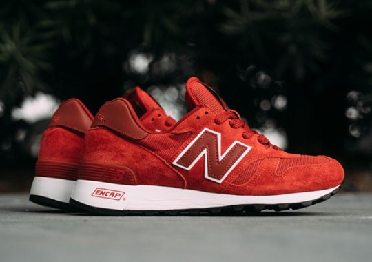 New Balance 1300 Appears In Red Suede