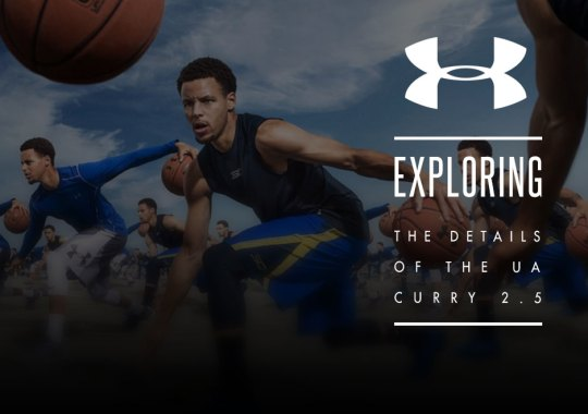 Exploring The Details Of Steph Curry's UA Curry 2.5