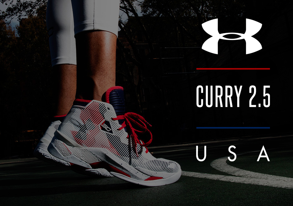 Under Armour Releases Two Patriotic Curry 2.5 Colorways