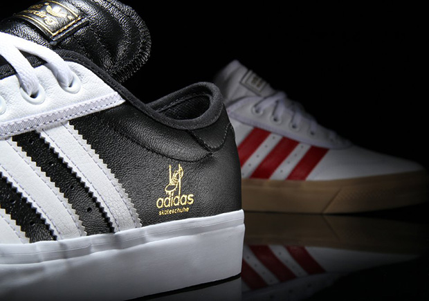 """hot sales 5b86f b7709 The adidas adi-Ease skate shoe sheds its canvas construction for a new  premium leather presentation this fall dubbed the """"Universal"""" series."""