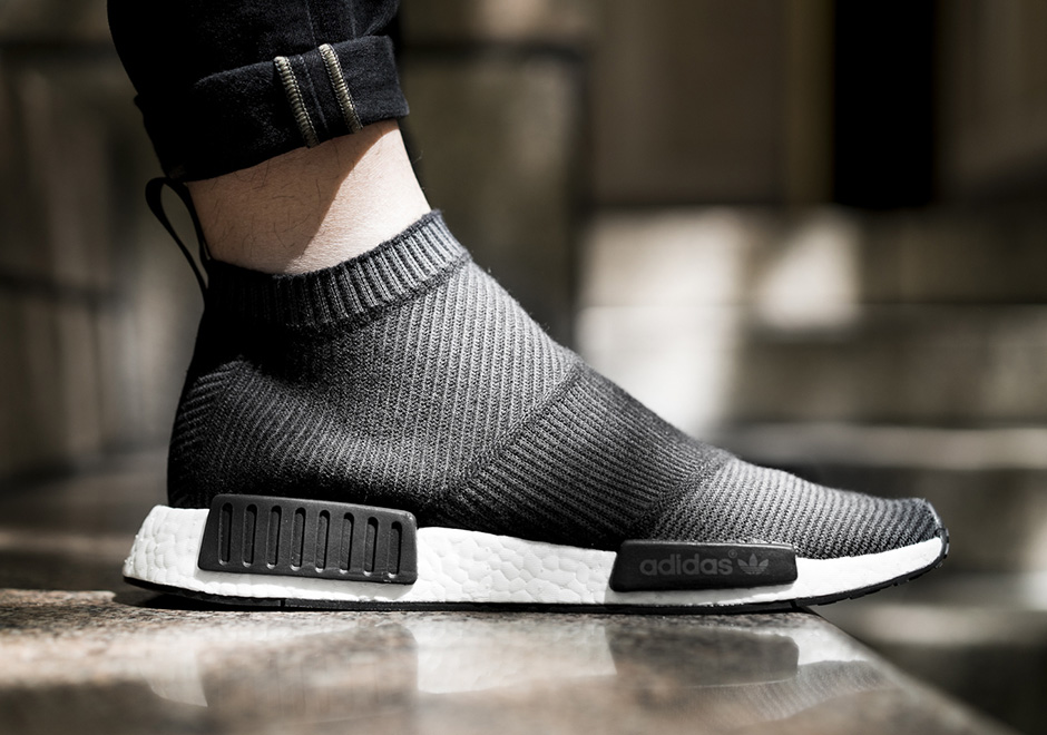 sports shoes f580e 1fbef adidas NMD City Sock Black Grey White | SneakerNews.com